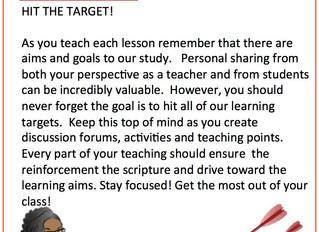 📚 #TeachingTipTuesday 📚 - Hit The Target!