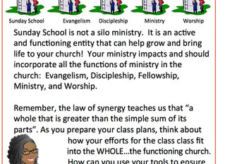 📚 #TeachingTipTuesday 📚 - TEACH WITH THE FULL MINISTRY IN MIND