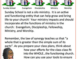 📚 ‪#TeachingTipTuesday ‬📚 - TEACH WITH THE FULL MINISTRY IN MIND