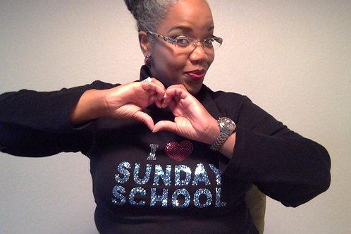 I LOVE Sunday School BLING