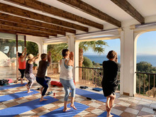 ladies luxury yoga retreats Spain