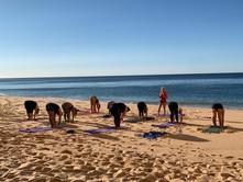 group yoga beach.JPG