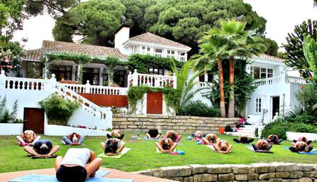 spiritual yoga retreat marbella