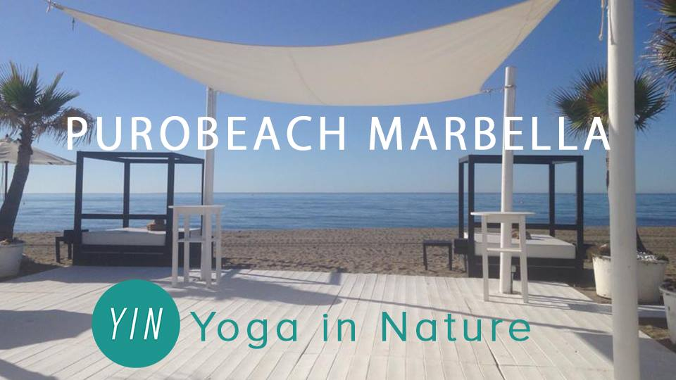 Yoga in Nature at Purobeach with Lisa Marie Robinson
