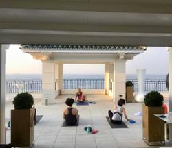 yoga retreats in malaga