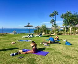 Dorian and Gal Yates Yoga 2020
