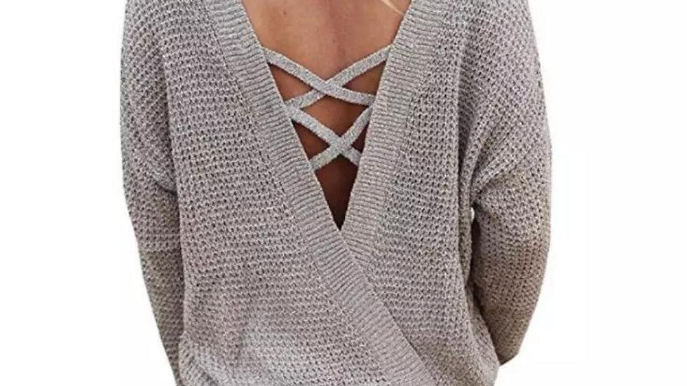 VBack Sweater