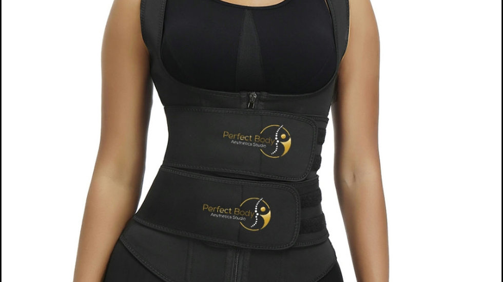 Perfect Body Neoprene Double Strap Vest