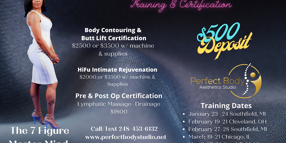 Body Contouring & Butt Lift Certification & Training Chicago