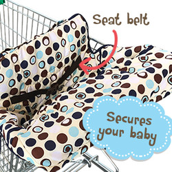 MEDIUM shopping cart/highchair cover