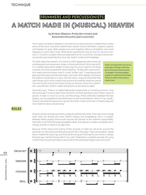 """""""A Match Made In (Musical) Heaven"""" / Tom Tom Magazine / Issue 32 / Page 1 of 3"""