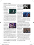 """""""From the Track to the Stage"""" / Modern Drummer Magazine / April 2017 Issue / Page 3 of 3"""