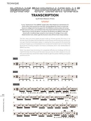 """Børns' 'Supernatural' Transcription"" / Tom Tom Magazine / Issue 34"