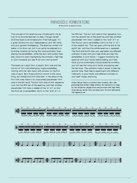 """Paradiddle Permutations"" / Tom Tom Magazine / Issue 11"