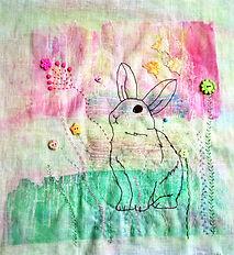 Bunny in meadow