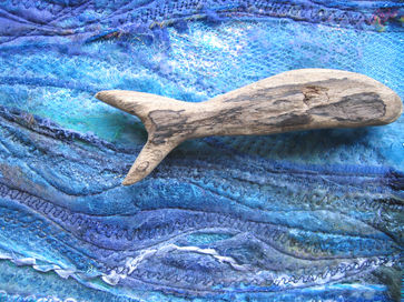 driftwood art embroidery