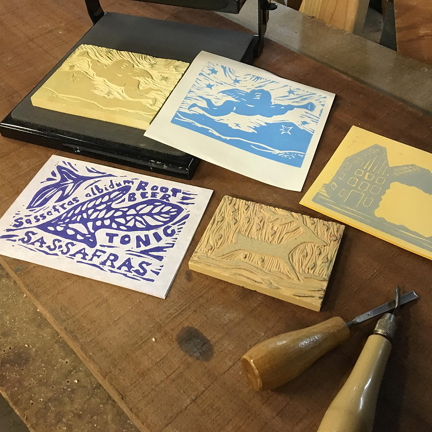 Speedcut Print making