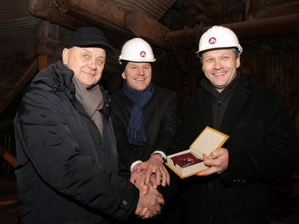 """""""Liepājas Metalurgs"""" Successfully Handed Over to the New Owners"""