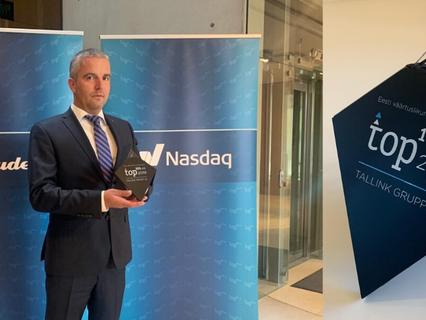 Igaunijas vērtīgāko uzņēmumu TOP101 pirmo reizi tika prezentēts sabiedrībai