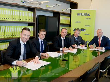"""LETA: """"airBaltic"""" shareholder agreement has been signed with Montag-Girmes"""