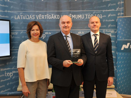 Latvenergo Remains the Most Valuable Company in Latvia's TOP 101