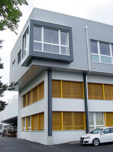 Aufstockung Gewerbehalle in Thun