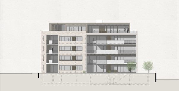 Projekt Neubau MFH in Visp