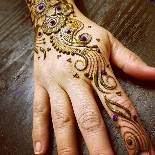 Birthday henna parties are always so muc