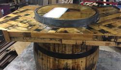 Jack Daniels Barrel Table