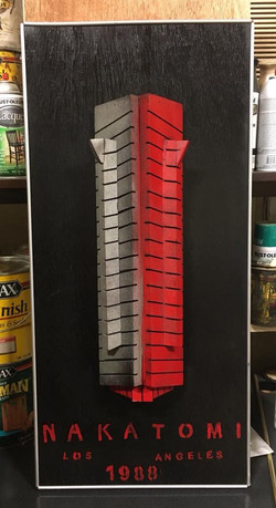 3D Nakatomi Plaza from Die Hard