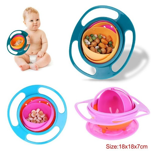 Autism Spill-Proof Balance Tableware Bowl