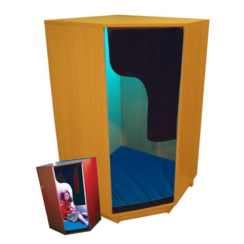 Autism Wooden Den with Mood Lighting For Sensory Treatment