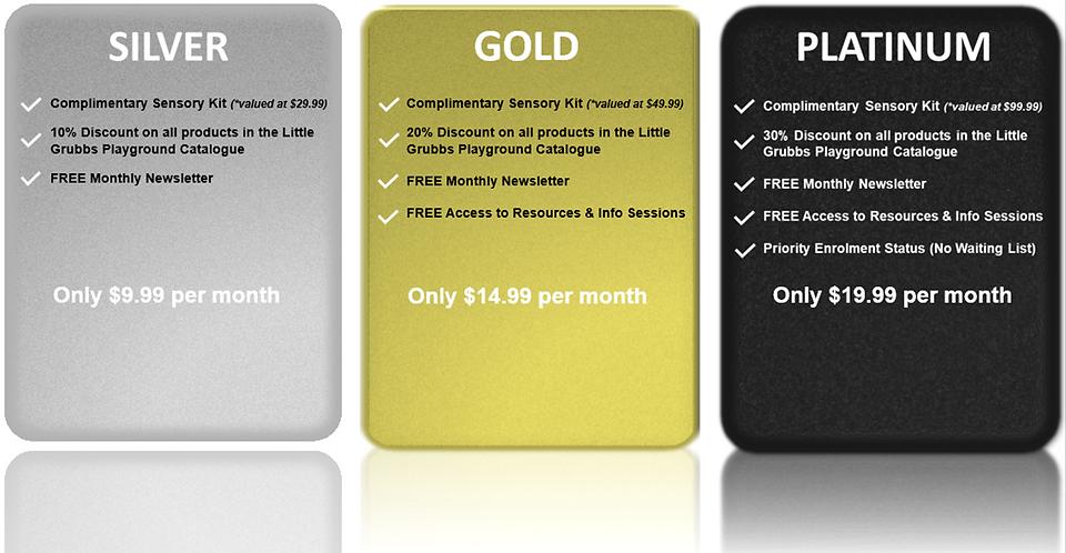Silver Gold Platinum Membership Plans_1.