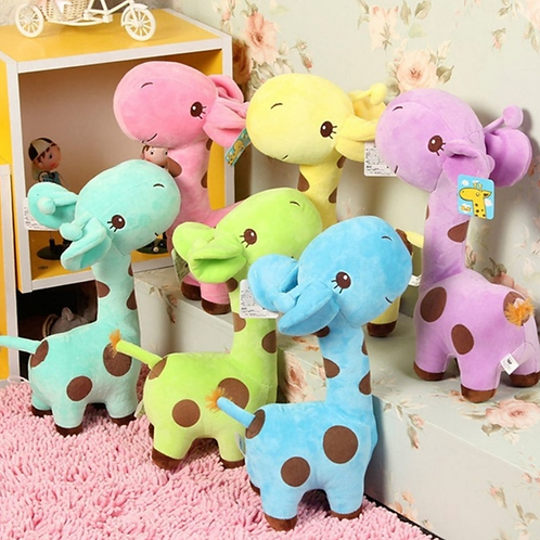 Autism Cute Giraffe Plush Toy Doll