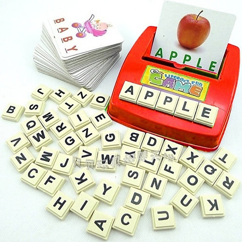 Autism Educational Literacy Word Scrabble Game