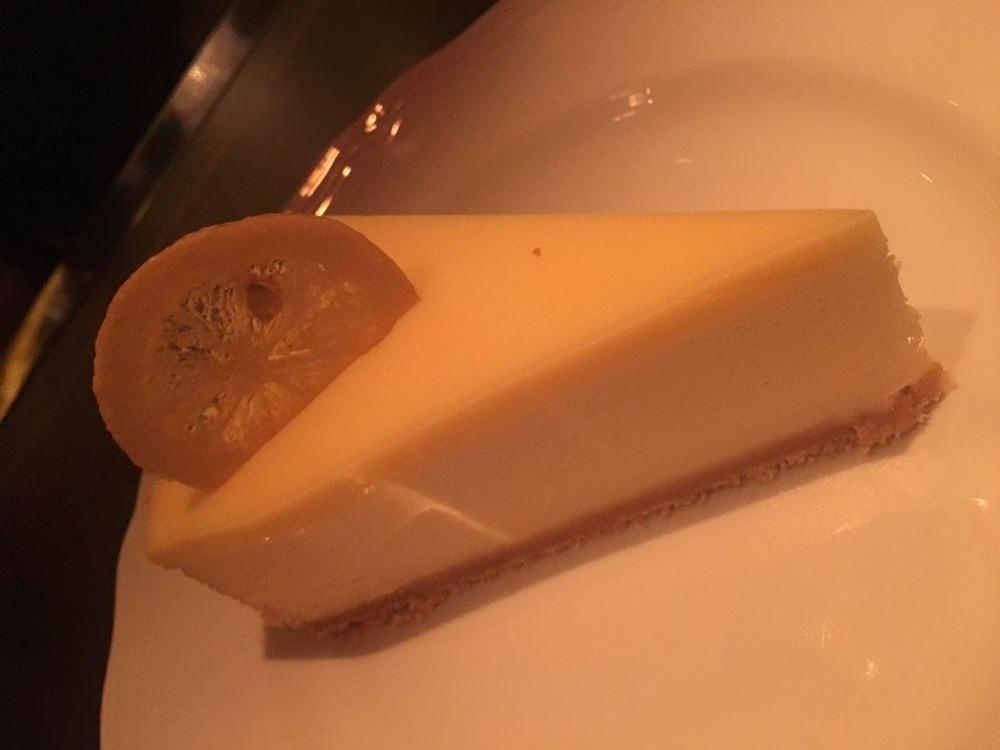 Cheesecake at Carbone, Las Vegas
