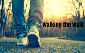 Walking the walk
