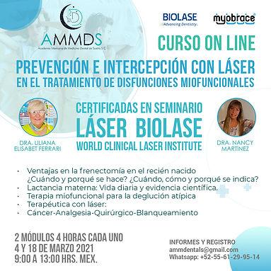 Prevención e intercepción con láser en e