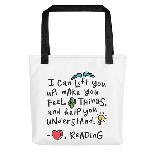 I Can Lift You Up Tote Bag