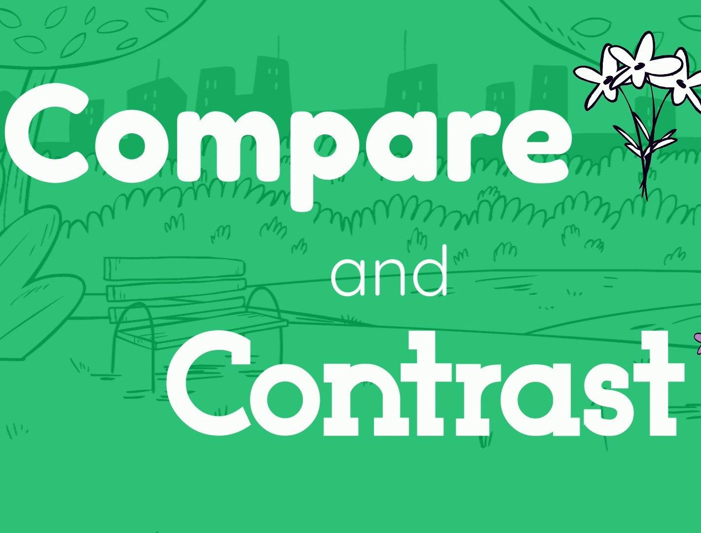 Author Visit - Compare & Contrast (6-8)