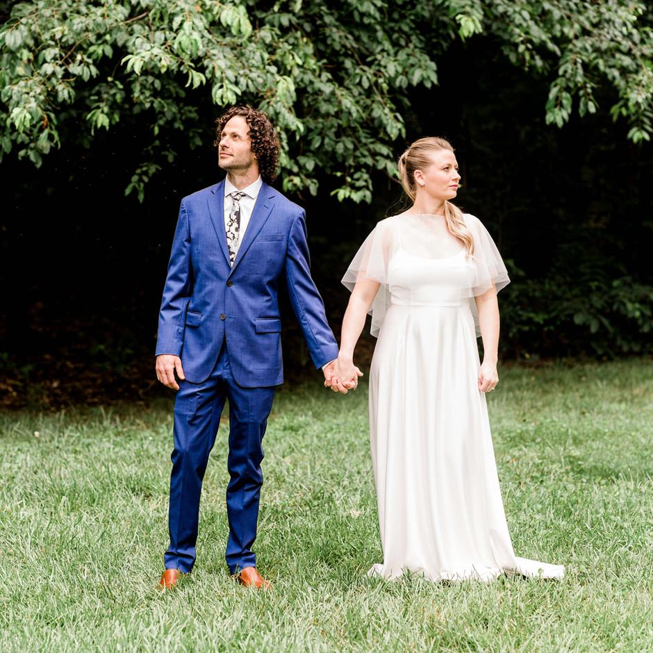 Shaunna + Mike | Fairfax Backyard Wedding