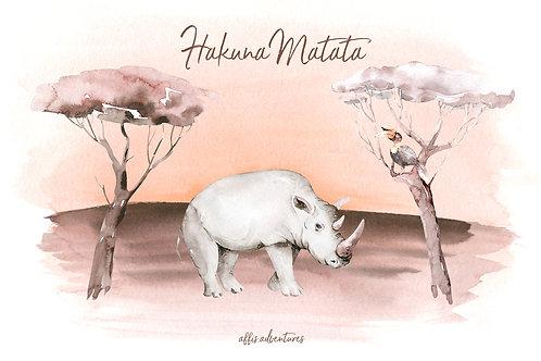 Karte - Hakuna Matata