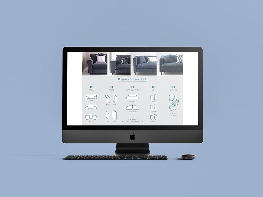 landing page design | Nadeige Pyndiah Portfolio