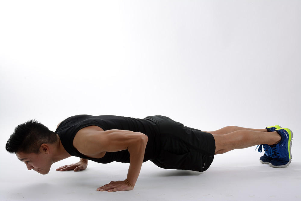 At home exercise push-up