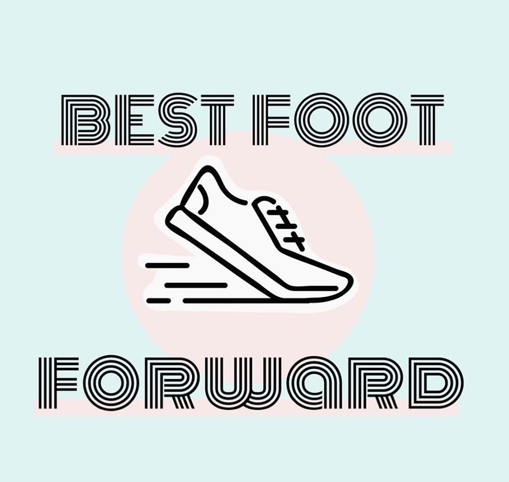 Best Foot Forward podcast by Sophie Jayne Miller