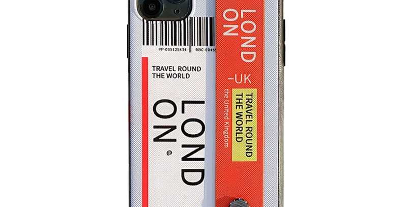 Boarding Pass iPhone Case with Handle