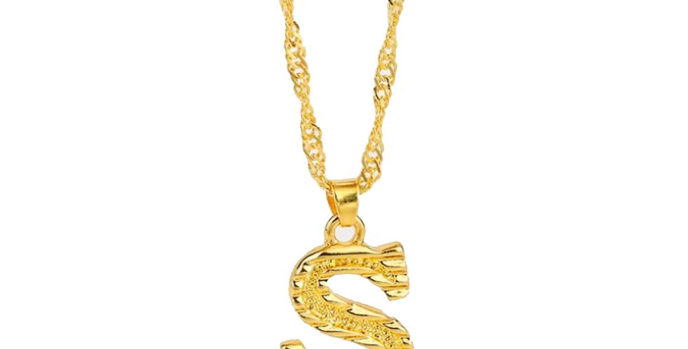 Capital Letter Necklace