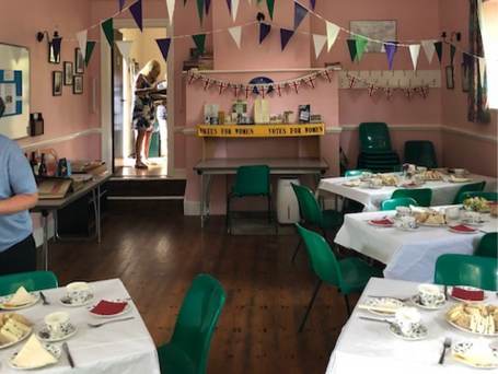 Centenary Suffragette Tea June 2018