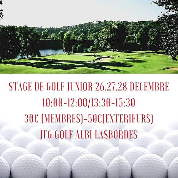 Actus Ecole de Golf Albi Lasbordes