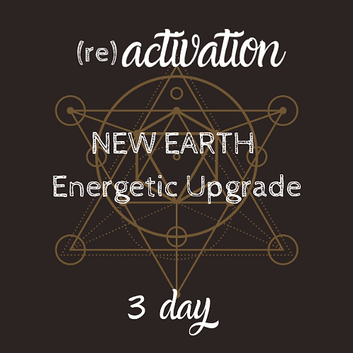 New Earth Energetic Protection Activation